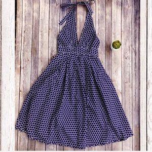 J. Crew Dress Polka Dot Halter